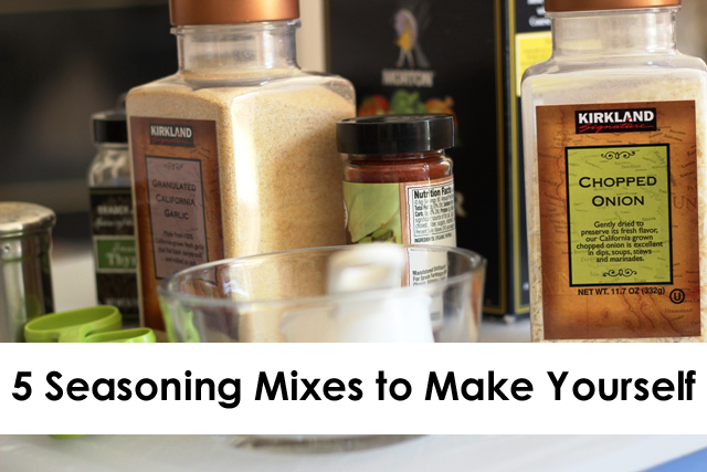 5 seasoning mixes to make yourself