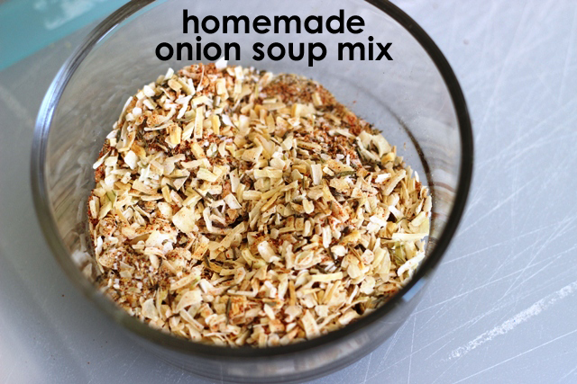 Dry Onion Soup Mix Homemade