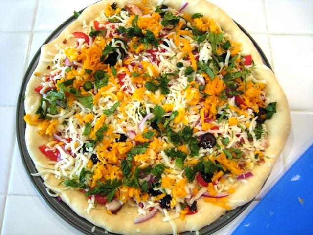 Jalapeno Burn Pizza