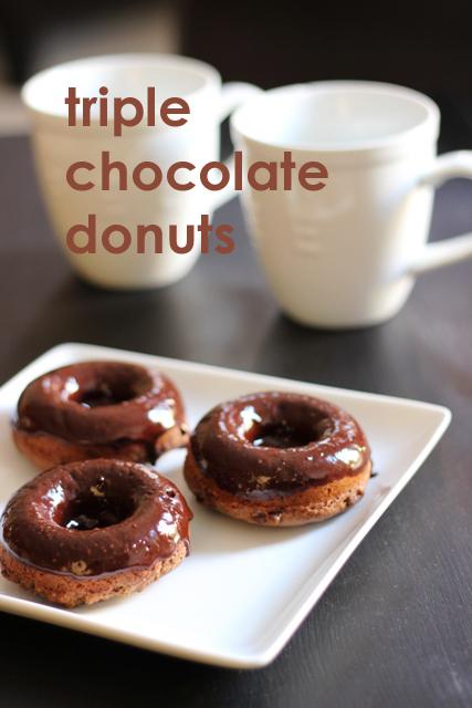 Triple Chocolate Donuts Good Cheap Eats