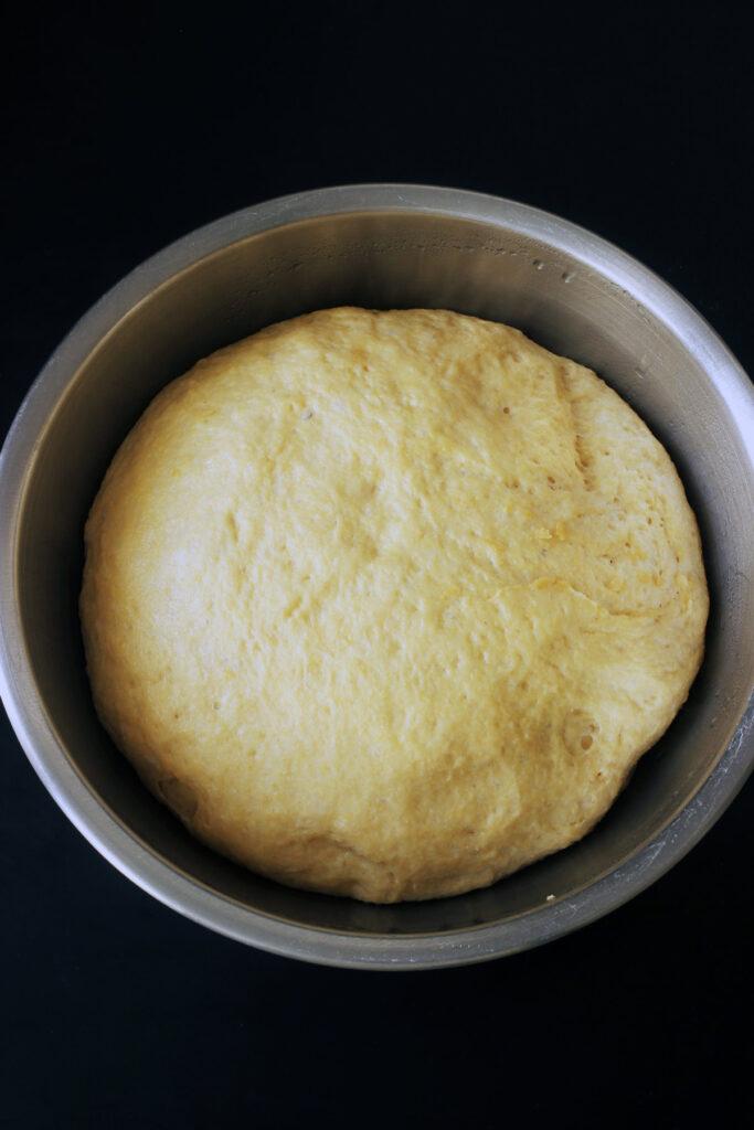 risen dough for sub rolls