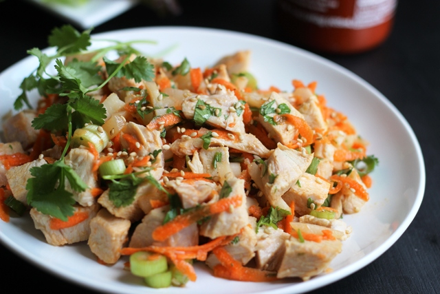 Ginger-Sesame Turkey Salad | Good Cheap Eats