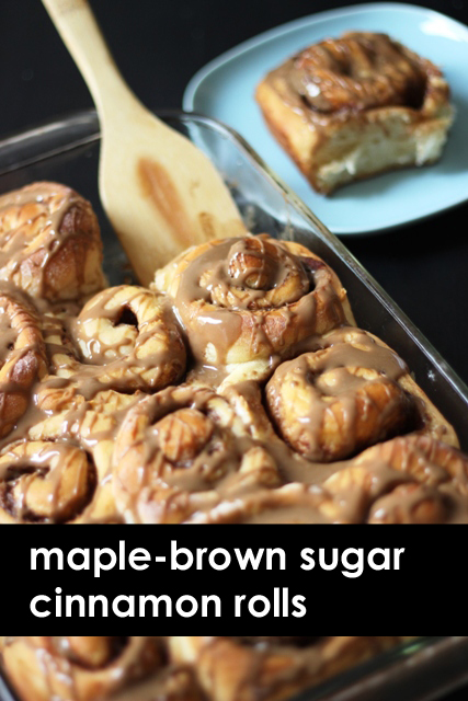 Maple Cinnamon Rolls copy