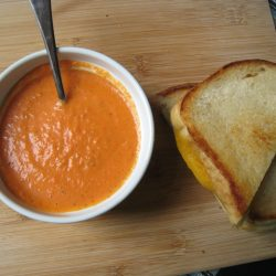 Creamy Herbed Tomato Soup
