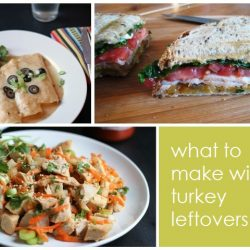 What to Make with Turkey Leftovers