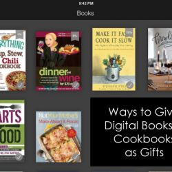 Ways to Gift Digital Books and Cookbooks