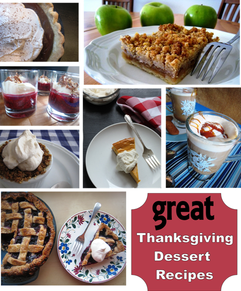 Great Thanksgiving Dessert Recipes | Good Cheap Eats