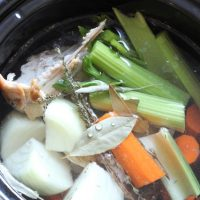 What to Do with the Turkey Bones? Make Stock