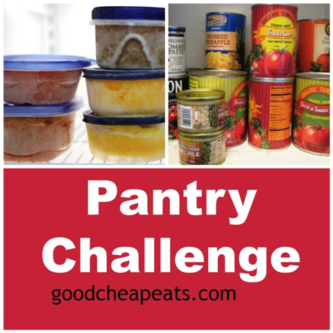 Pantry Challenge - Taking time out of the new year to focus on what we have and eat down the pantry and other food stores.