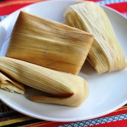 Cheesy Corn & Chile Tamales - Quick and Easy, Meatless, and Cheap