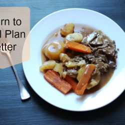 Learn to Meal Plan Better