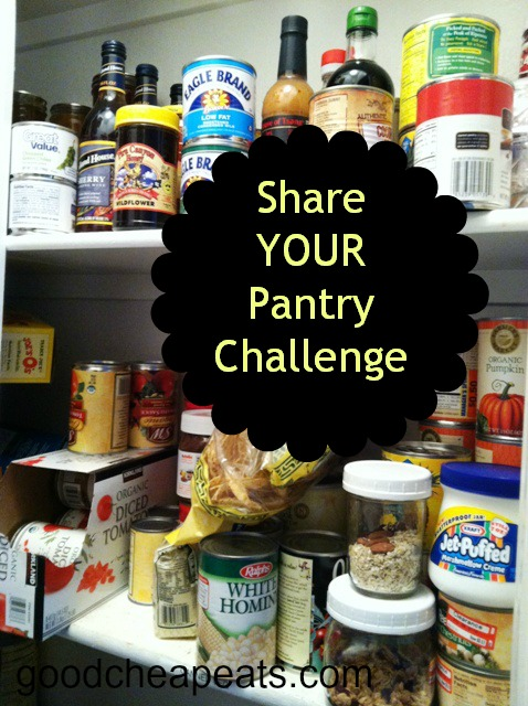 Share your Pantry Challenge