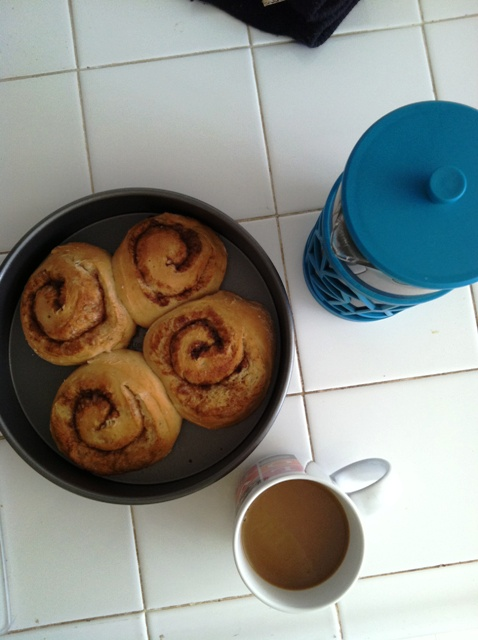 Whole Grain Cinnamon Rolls