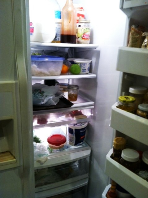 pantry challenge fridge