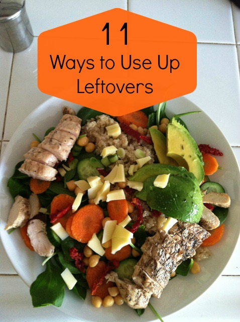 Ways to Use Up Leftovers - Easy recipe ideas to use the leftovers in your fridge, reducing waste, and enjoying more great meals.