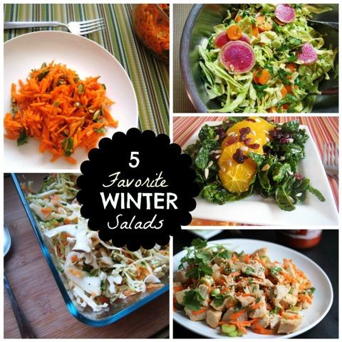 5 Favorite Winter Salads
