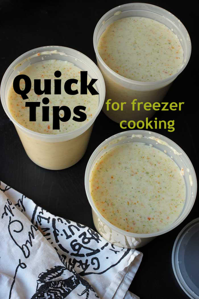 Quick Freezer Cooking Tips | Good Cheap Eats