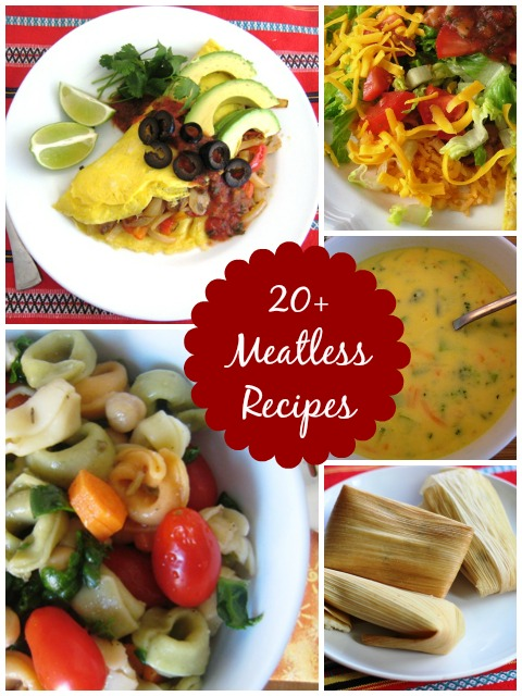 Make it meatless! 20+ Meatless Recipes   GoodCheapEats
