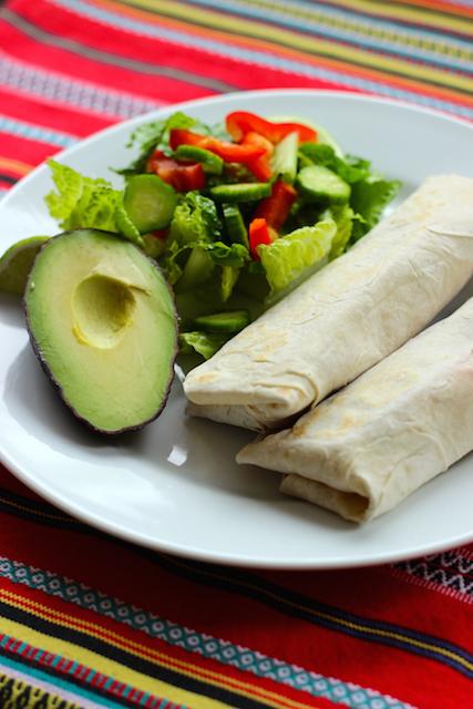 Green Burrito Plate