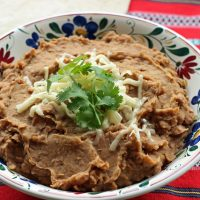 "Healthier ""Refried"" Beans"