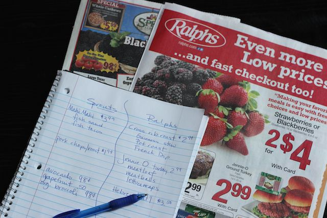 Planning Meals to Match the Grocery Sales - Learn how to plan your meals based on what's on sale at the grocery store.