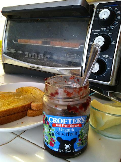 jam and toast