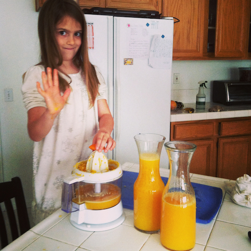 juicing girl