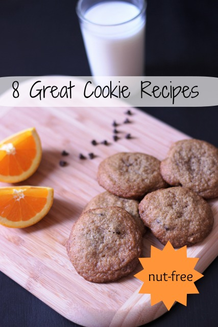 8 Great Cookies to make that are delicious and also nut-free.