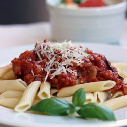 quick meat sauce for pasta bolognese