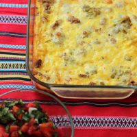 Spicy Turkey Egg Bake
