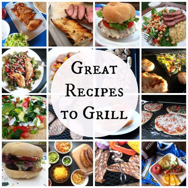 Great Recipes to Grill - a roundup of 20+ great recipes for the grill.