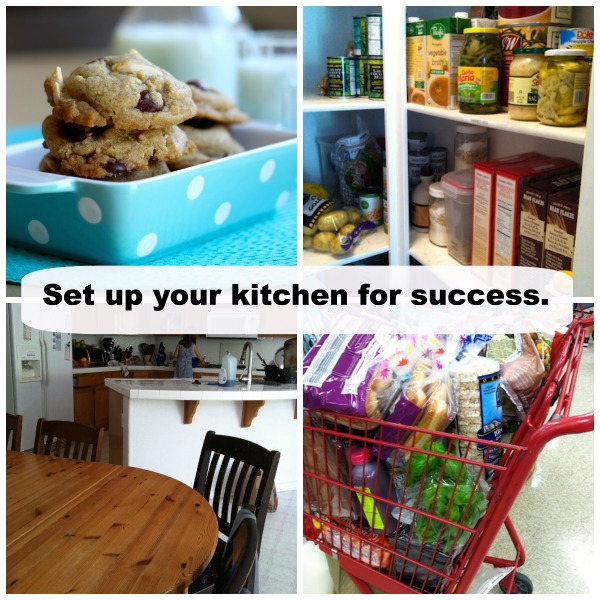Set your kitchen up for success with these 7 simple steps.