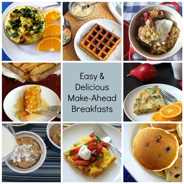 Break Out of Your Breakfast Routine with Easy Make-Ahead Breakfast Recipes   GoodCheapEats.com
