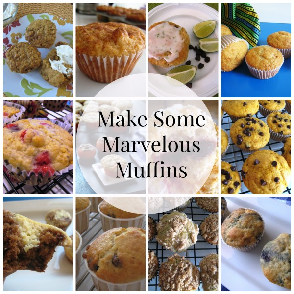 Marvelous Muffins to Make - Muffins are a tasty handheld food that makes a great to-go meal or snack. They are also fun to gift.