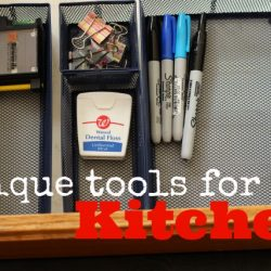 Unique Tools for the Kitchen - Kitchen tools can be a super help to making good, cheap eats. Here are a few tools, you might not think belong in the kitchen, but they do.