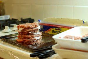 Hamburgers for Freezing