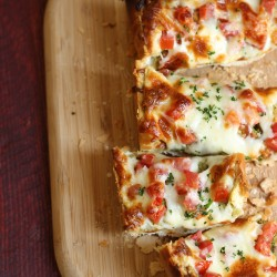 Pesto French Bread Pizza