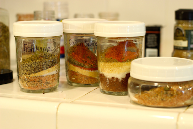 Homemade Seasonings and FishMama Spice Mix - Add a little spice to your life with homemade seasoning blends. You'll save money by buying spice in bulk and save time by having a multi-purpose seasoning at the ready.