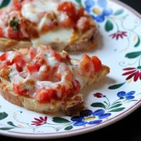 Broiled Bruschetta