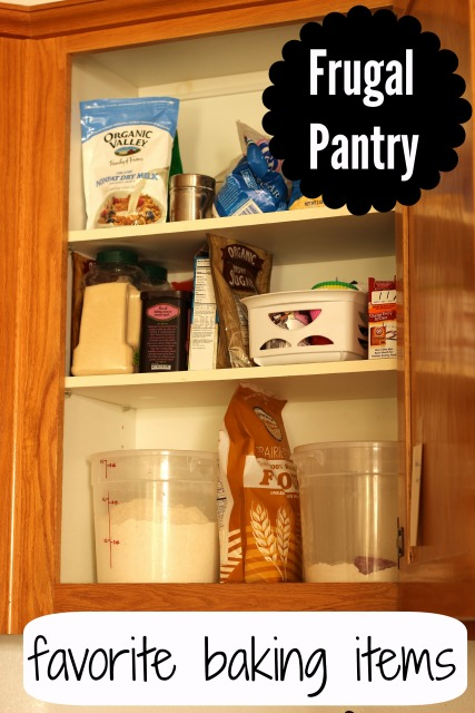 Frugal Pantry: Favorite Baking Ingredients