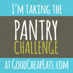 Want to save some money? Want to waste less food? Want to improve your shopping habits? Then a Pantry Challenge is for you!