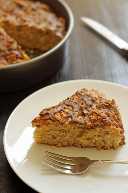 Oaty Maple Breakfast Cake - Bake up some maple-oat deliciousness in this easy to prep breakfast cake.