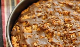 Maple scone cake