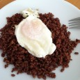 fried egg and red rice day 2
