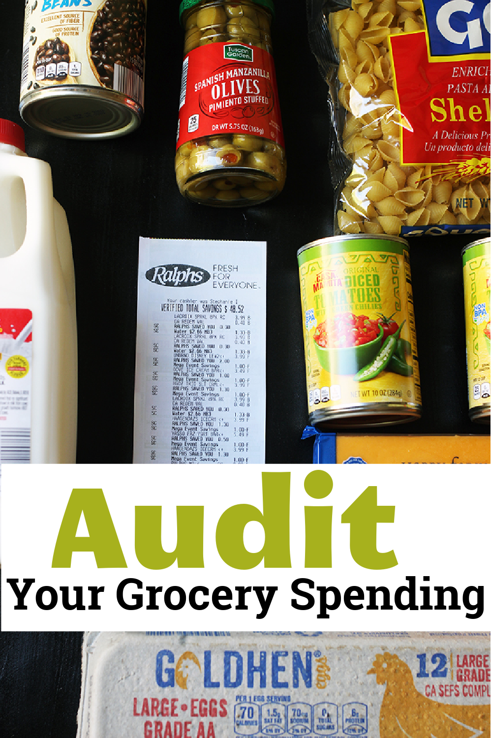 pinnacle image for Audit your grocery spending