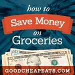 Choose Good Cheap Ingredients - Don't complicate things. Choose recipes with regularly inexpensive ingredients.