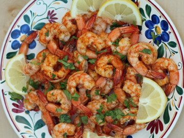 Shrimp on the Barbie - Ready for something awesome to come off the grill? This easy and quick grilled shrimp would be that dish.