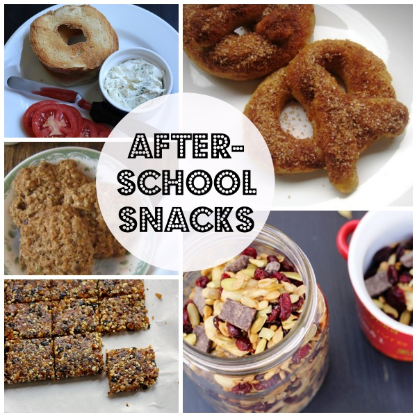 After school snacks your kids will love for Easy after school snacks for kids to make