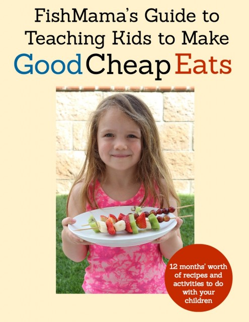 Get a FREE Cooking with Kids Ebook  - Get a free guide to cooking with kids when you purchase the Good Cheap Eats cookbook.