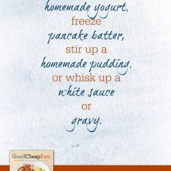 GCE Tip - Milk